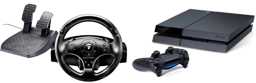 thrustmaster t100 und t500 an der ps4. Black Bedroom Furniture Sets. Home Design Ideas