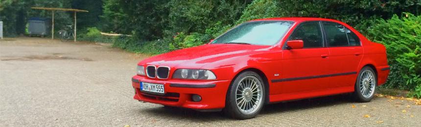 BMW E39 – Zierleisten mit Alcantara beziehen