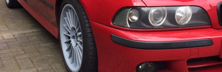 LED-Standlichtringe im BMW E39