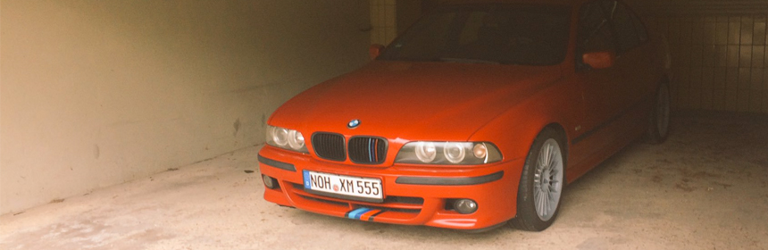 Torque + Bluetooth-Adapter im BMW E39